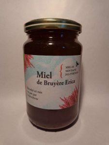 Miel de bruyere érica 500 grammes